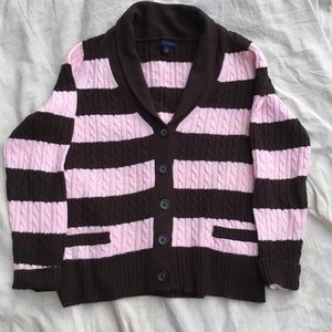 Pink & Brown Tommy Hilfiger Sweater